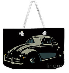 Vw Beatle Weekender Tote Bag