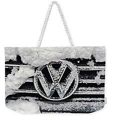 Vw Snow Day Weekender Tote Bag