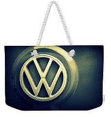 Vw Thing Emblem Weekender Tote Bag by Joseph Skompski
