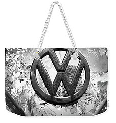 Weekender Tote Bag featuring the photograph Vw Volkswagen  by Kelly Hazel