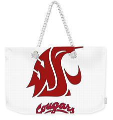 W S U Cougars Kickass Weekender Tote Bag