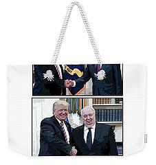 W T F Weekender Tote Bag