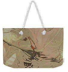 Wabi-sabi Ikebana Remix Warm Taupes Weekender Tote Bag