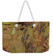 Wabi-sabi Remix Pink And Yellow Green Weekender Tote Bag