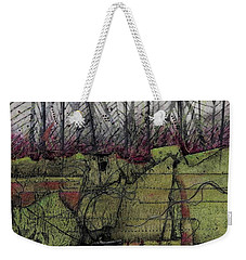 Wabi Sabi Walk In The Woods Weekender Tote Bag