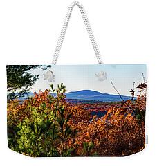 Wachusett In Fall Weekender Tote Bag
