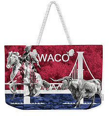 Weekender Tote Bag featuring the photograph Waco Texas by JC Findley