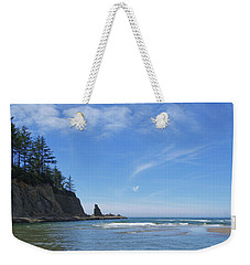 Wade In The Ocean Weekender Tote Bag