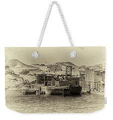 Wadi Al-sebua Antiqued Weekender Tote Bag by Nigel Fletcher-Jones