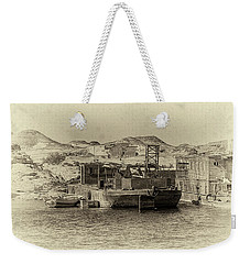 Wadi Al-sebua Antiqued Weekender Tote Bag