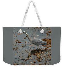Wading Heron Weekender Tote Bag