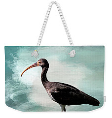 Wading Ibis Weekender Tote Bag by Cyndy Doty