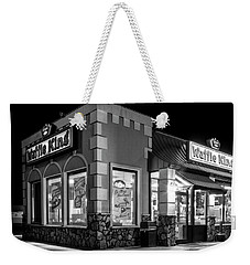 Waffle King In Black And White Weekender Tote Bag