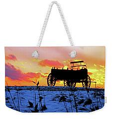 Wagon Hill At Sunset Weekender Tote Bag