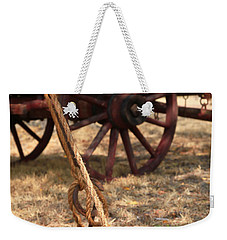 Wagon Stake Weekender Tote Bag