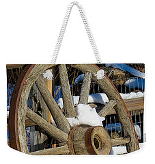 Wagon Wheel 1 Weekender Tote Bag