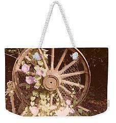 Wagon Wheel Memoir Weekender Tote Bag