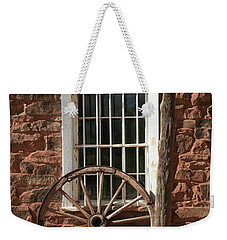 Wagon Wheel Weekender Tote Bag