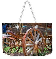 Wagons Ho Weekender Tote Bag