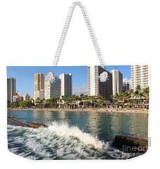 Waikiki Breakers Weekender Tote Bag