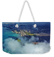 Waikiki In Morning Light Weekender Tote Bag by Craig Wood