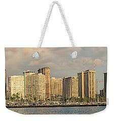 Waikiki Panorama 1 Weekender Tote Bag