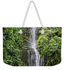 Wailua Falls On The Road To Hana, Maui, Hawaii Weekender Tote Bag