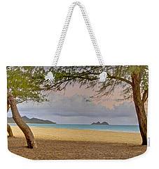 Waimanalo Beach Weekender Tote Bag by Michael Peychich