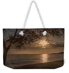 Waimea Bay Sunset 4 Weekender Tote Bag