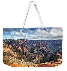 Waimea Canyon Kauai Hawaii Weekender Tote Bag