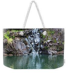 Waimea Waterfall Vignette Weekender Tote Bag
