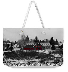 Weekender Tote Bag featuring the photograph Heritage Park by Stuart Turnbull