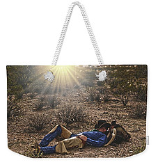 Waitin' On A Horse Weekender Tote Bag