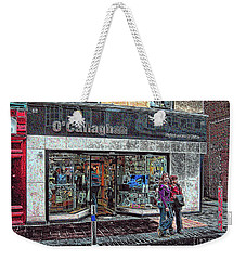 Weekender Tote Bag featuring the photograph Waiting By O' Callaghans by Dave Luebbert