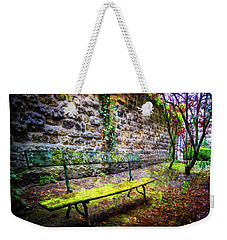 Weekender Tote Bag featuring the photograph Waiting by Debra and Dave Vanderlaan
