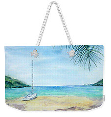 Waiting For A Sailor Weekender Tote Bag