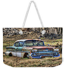 Waiting For A Tow Weekender Tote Bag