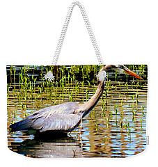 Weekender Tote Bag featuring the photograph Waiting For Dinner by Lisa Wooten