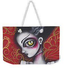 Waiting For  Frankenstein  Weekender Tote Bag by Abril Andrade Griffith