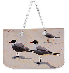 Waiting For Handouts Weekender Tote Bag