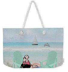 Waiting For Popeye Weekender Tote Bag by Ericamaxine Price