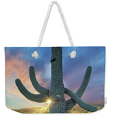 Waiting For Rain Weekender Tote Bag