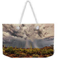 Weekender Tote Bag featuring the photograph Waiting For Rain by Rick Furmanek