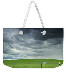 Waiting For Something Weekender Tote Bag