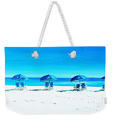Waiting For The Beach Sitters Weekender Tote Bag