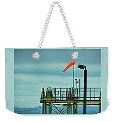 Waiting For The Ferry Weekender Tote Bag