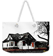 Weekender Tote Bag featuring the photograph Waiting For The Light by Sadie Reneau