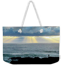 Waiting For The Rain. Weekender Tote Bag