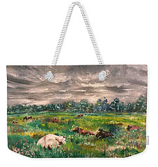Waiting For The Rain Weekender Tote Bag
