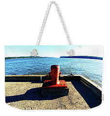 Waiting For The Ship To Come In. Weekender Tote Bag